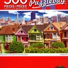 Cra-Z-Art Painted Ladies from Alamo Square and SanFrancisco Skyline - 500 Piece Jigsaw Puzzle - p010