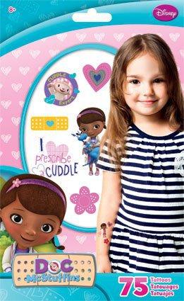 Disney Standard Tatto Bag - Doc McStuffins - Temporary Kids Games Toys tt2047