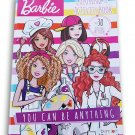 Lazy Days Barbie You Can Be Anything Coloring and Activity Book with Stickers