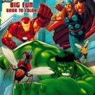Marvel Avengers Big Fun book to Color Fierce Fighters