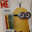 Despicable Me Minion Made Coloring & Activity Book With Crayons, Minions at Work