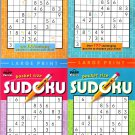 Large Print Pocket Size Sudoku Puzzles - Over 100 Challenging Puzzles to Sharpen Your Mind! Vol.5-8