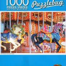 Cra-Z-Art Old Fshioned Carousel Horses - Puzzlebug - 1000 Piece Jigsaw Puzzle