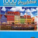 Cra-Z-Art Nyhavn Canal, Copenhagen, Denmark - Puzzlebug - 1000 Piece Jigsaw Puzzle