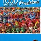 Cra-Z-Art Colorful Mexican Souvenirs - Puzzlebug - 1000 Piece Jigsaw Puzzle