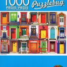 Cra-Z-Art Colorful Doors - Puzzlebug - 1000 Piece Jigsaw Puzzle