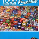Cra-Z-Art Grand Bazzar Colorful Pottery, Istanbul, Turkey - Puzzlebug - 1000 Piece Jigsaw Puzzle