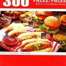 Puzzlebug American Picnic - 300 Pieces Jigsaw Puzzle p 001
