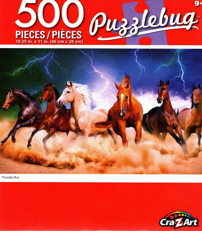 Thunder Run - Puzzlebug - 500 Piece Jigsaw Puzzle