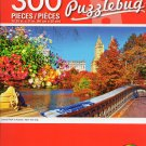 Central Park in Autumn, New York City - Puzzlebug - 300 Piece Jigsaw Puzzle