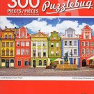 Cra-Z-Art Colorful Buildings, Ponzan, Poland - Puzzlebug - 300 Piece Jigsaw Puzzle