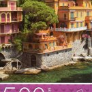 Cardinal Industries Sea Side Villas, Portofino - 500 Piece Jigsaw Puzzle