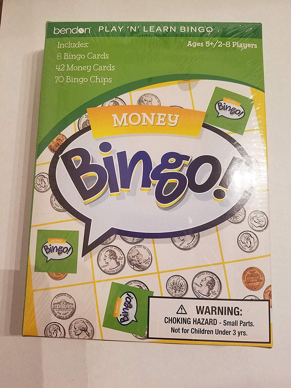 Play 'N' Learn Bingo, Money