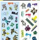 Sandylion Teenage Mutant Ninja Turtles Stickers Party Pack - 16 Sheets
