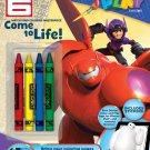 Bendon Disney Big Hero 6 Color and Play 32-Page Activity Book