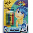 Bendon Disney Inside Out Color and Play 32-Page Activity Book