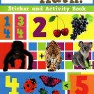 Let's Learn Math - Sticker Activity Educational Workbook by Flowerpot Press