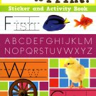 Let's Learn to Print - Sticker Activity Educational Workbook by Flowerpot Press