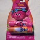 DreamWorks TROLLS Set of 2 LIP BALMS Berry & Strawberry Flavored