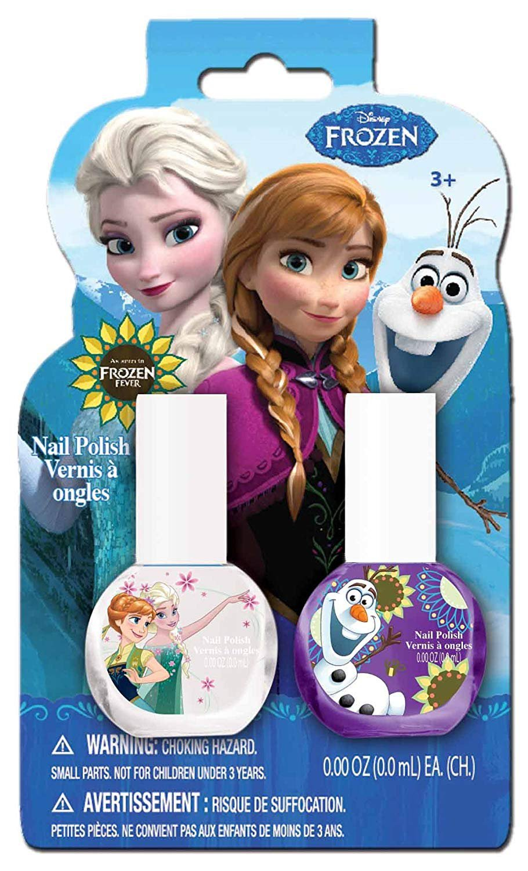 Frozen Nail Polish-on-Card Makeup Set, 2 Count