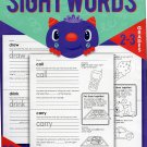 Sight Words Educational Workbook Reproducible - Teacher Approved - Grades 2-3 - v3