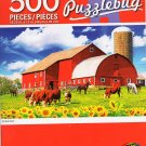 Cra-Z-Art On The Farm - Puzzlebug - 500 Piece Jigsaw Puzzle