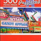 Cra-Z-Art Carnival Candy Apple and Pizza Stands - 500 Piece Jigsaw Puzzle