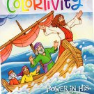 Colortivity Bible Fun - Read and Color Coloring & Activity Book - Power in His Name