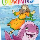 Colortivity Bible Fun - Read and Color Coloring & Activity Book - Oh, No, Jonah!