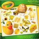 Crayola World of Yellow - 24 Pieces Educational Jigsaw Puzzle