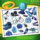 Crayola World of Blue - 24 Pieces Educational Jigsaw Puzzle