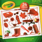 Crayola World of Red - 24 Pieces Educational Jigsaw Puzzle
