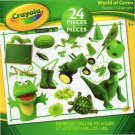 Crayola World of Green - 24 Pieces Educational Jigsaw Puzzle