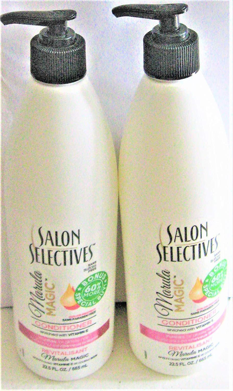 Salon Selectives Marula Magic Hair Conditioner with Pump Set of 2