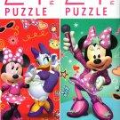 Disney Junior Minnie - 24 Pieces Jigsaw Puzzle (Set of 2)