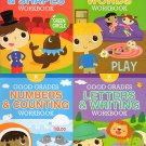 Good Grades Kindergarten Educational Workbooks - Set of 4 Books - v5