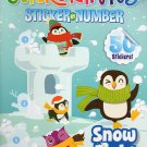 StickerTivity Sticker by Number - Snow Fight - 50 Stickers
