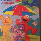 Rain or Shine Sesame Street Coloring & Activity Book with Stickers