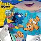 Disney Pixar Finding Dory 48-Page Color and Play Activity Book with Stickers and Tracing Pages