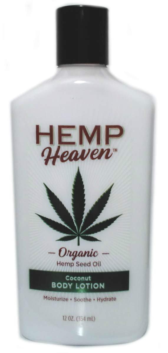 Hemp Heaven Organic Hemp Seed Oil Coconut Body Lotion - 12 Ounce