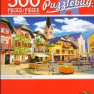 Cra-Z-Art Quaint Square in The Austrian Village of Hallstatt - 500 Piece Jigsaw Puzzle