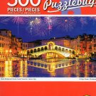Cra-Z-Art Rialto Bridge and Grand Canal Fireworks, Venice, Italy - 500 Piece Jigsaw Puzzle