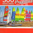 Colourful Catamarans, Spain - Puzzlebug - 300 Piece Jigsaw Puzzle
