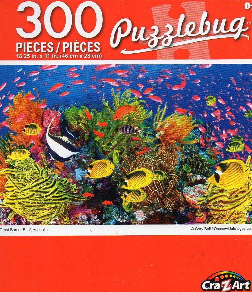Cra-Z-Art Great Barrier Reef, Australia - Puzzlebug - 300 Piece Jigsaw Puzzle