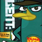 Disney Phineas and Ferb IPAD Mini Portfolio Case Tablet with Built in Stand Weather Resistant Cover