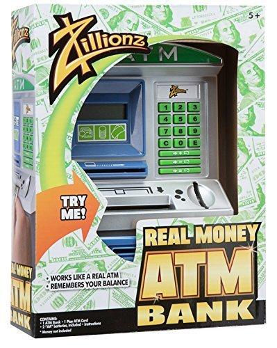 Zillionz Savings Teller ATM Bank by Zillionz