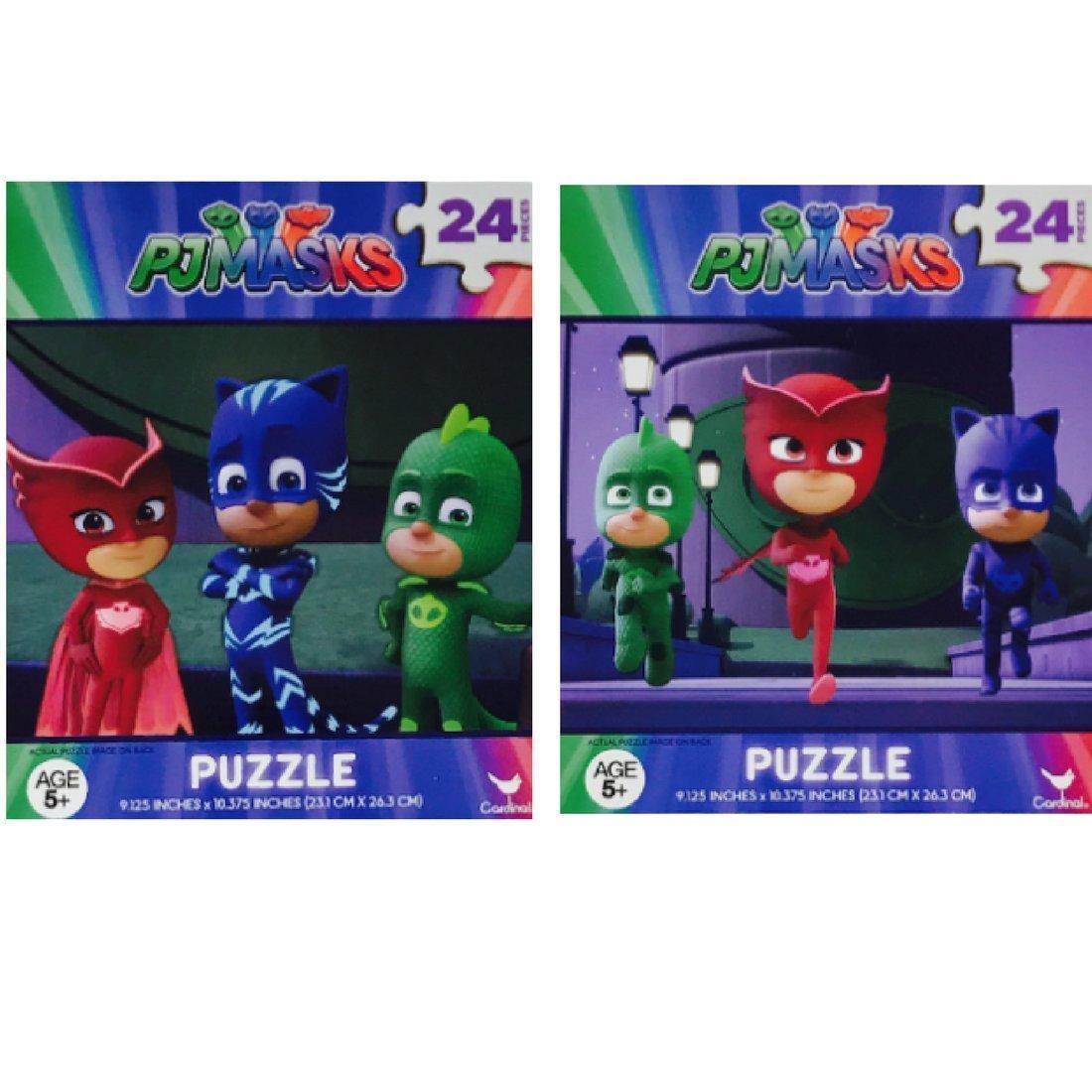 PJ Masks Jigsaw Puzzle 2 Pack Assorted Designs 24 Piece Assorted Design