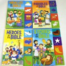 Set of Four Bible Story Tabbed Books for Young Children: Parables, Heroes, Miracles and Stories