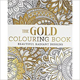 The Gold Coloring Book, Beautiful Radiant Designs