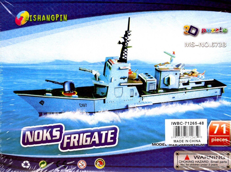 3D Puzzle Aishangpin - Noks Frigate 71 Pieces